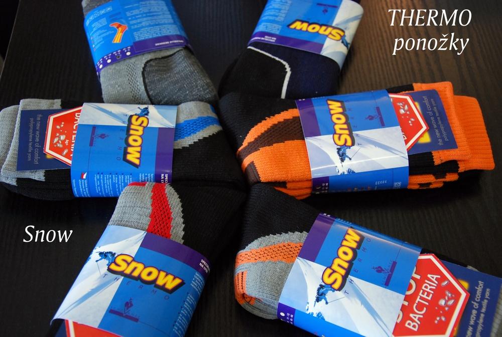49979c34fc3 Snow thermo ponožky se stříbrným vláknem antibakteriální » Velikost  29-30